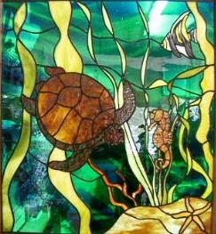 D Amp L Art Glass